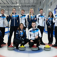 European Curling Photocall