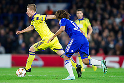 Dare Vrsic of Maribor during football match between Chelsea FC and NK Maribor, SLO in Group G of Group Stage of UEFA Champions League 2014/15, on October 21, 2014 in Stamford Bridge Stadium, London, Great Britain. Photo by Vid Ponikvar / Sportida.com