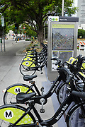 Metro Bike Sharing Station On Hope & 1st