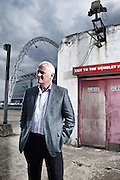 Barry Hearn, Snooker and Football entrepeneur, Wembley, London.