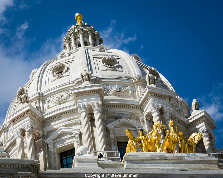 Minnesota's Capitol building is home to one of the largest self-supporting domes in the world.