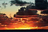 Pacific Ocean Sunrise Panorama viewed from the aft deck of the MV World Odyssey. Image 12 of 20 taken with a Nikon 1 V3 camera and 70-300 mm VR lens (ISO 200, 82 mm, f/8, 1/250 sec). Raw images processed with Capture One Pro and the panorama created using AutoPano Giga Pro.
