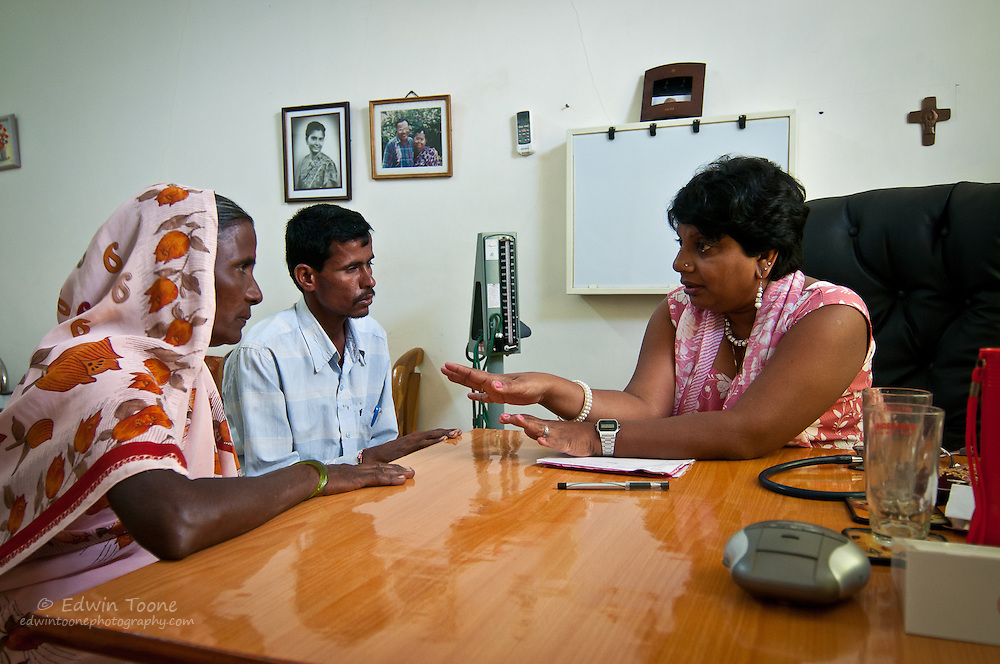 Dr. Shobha Arole has followed in her parents footsteps and is now the director of the hospital.