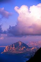 Capo S. Vito, near Erice, Sicily, Italy