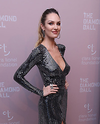 September 15, 2018 - New York City, New York, USA - 9/13/18.Candice Swanepoel at Rihanna''s 4th Annual Diamond Ball held at Cipriani Wall Street in New York City..(NYC) (Credit Image: © Starmax/Newscom via ZUMA Press)