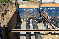UConn Steam and Condensate Line and Vault Replacement Project. Task No.:001 Construction Progress Documentation on 21 July 2016. One of 108 Images this Submission.