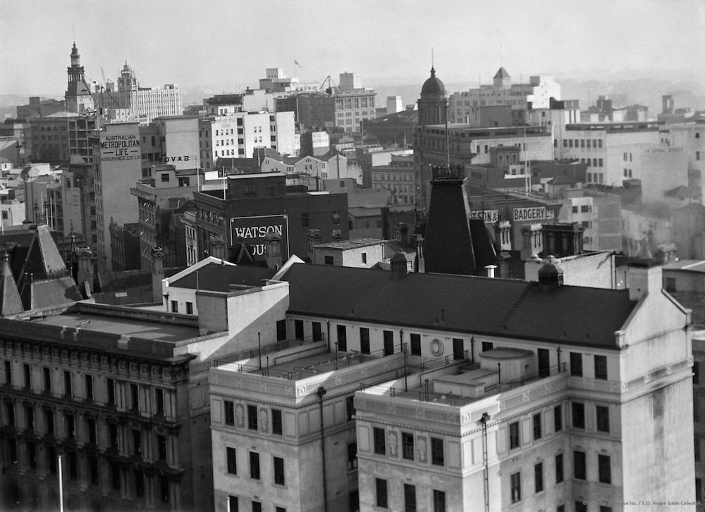 View of Sydney, Australia, 1930