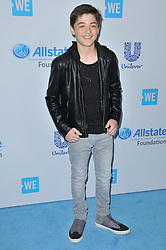 Asher Angel arrives at We Day California 2017 held at The Forum in Inglewood, CA on Thursday, April 27, 2017. (Photo By Sthanlee B. Mirador) *** Please Use Credit from Credit Field ***