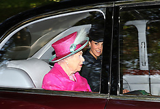 Queen Elizabeth II attends church - 25 Aug 2019