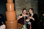 CONNIE FISHER; FIONA SINNOTT;, A little Night Music press night. Garrick Theatre and afterwards at CafŽ in The Crypt, St Martin-in-the-Field. London. 7 April 2009<br /> CONNIE FISHER; FIONA SINNOTT;, A little Night Music press night. Garrick Theatre and afterwards at Café in The Crypt, St Martin-in-the-Field. London. 7 April 2009