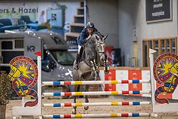 Gielis Davy, BEL, Quickly de Casall 1919 Z<br /> Pavo Hengsten competitie - Oudsbergen 2021<br /> © Hippo Foto - Dirk Caremans<br />  22/02/2021