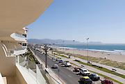 View on Avenue del Mar in la Serena, Chile