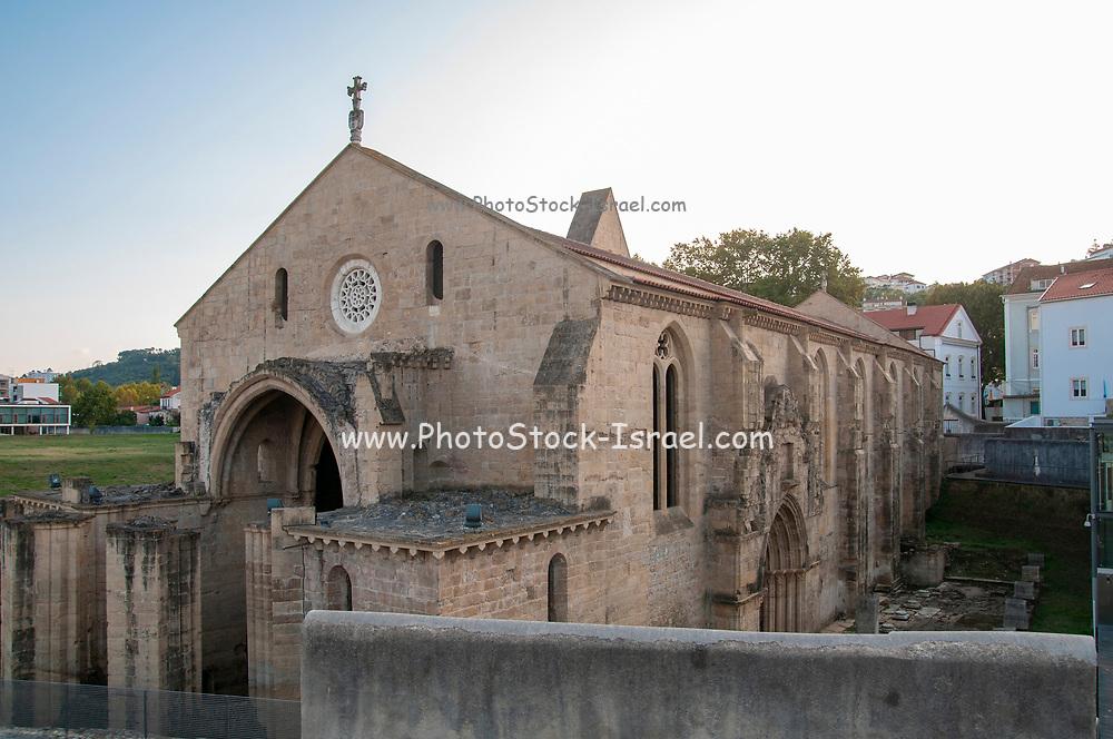 Ruins of the 14th century Monastery of Santa Clara a Velha (Old St. Clara Monastery) in Coimbra, Portugal