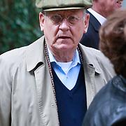 NLD/Amsterdam/20110729 - Uitvaart actrice Ina van Faassen, John Lanting