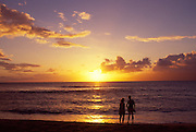 Sunset, Maui, Hawaii<br />