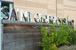 Manchester Bridgewater Canal and Saint Georges Island sign.29  September 2012.Image © Paul David Drabble