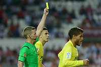 Referee Alejandro J. hernandez during the match between Sevilla FC and Villarreal day 9 spanish  BBVA League 2014-2015 day 5, played at Sanchez Pizjuan stadium in Seville, Spain. (PHOTO: CARLOS BOUZA / BOUZA PRESS / ALTER PHOTOS)