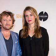 NLD/Amsterdam/20140303 - Uitreiking TV Beelden 2014, Pepijn Gunneweg en Jetske van Elzen