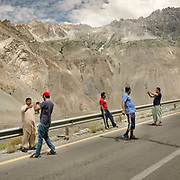 The recently repaired Karakoram Highway has inspired more and more tourists from the heated plains of Pakistan to take road trips through Gojal to the Pakistan-China border. Selfies in front of the stunning, mountainous Cathedral Ridge are practically mandatory.