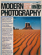 Modern Photogrpahy Cover, Sand and Butte