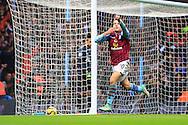 Andreas Weimann of Aston Villa celebrates scoring the opening goal - Aston Villa vs. Tottenham Hotspurs - Barclay's Premier League - Villa Park - Birmingham - 02/11/2014 Pic Philip Oldham/Sportimage