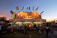Hot Dog Stand at the Los Angeles County Fair, Pomona, California