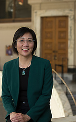 Stephanie Hom, the deputy city administrator for the City of Oakland, Calif., photographed at her office in City Hall, Wednesday, March 1, 2017. (Photo by D. Ross Cameron)