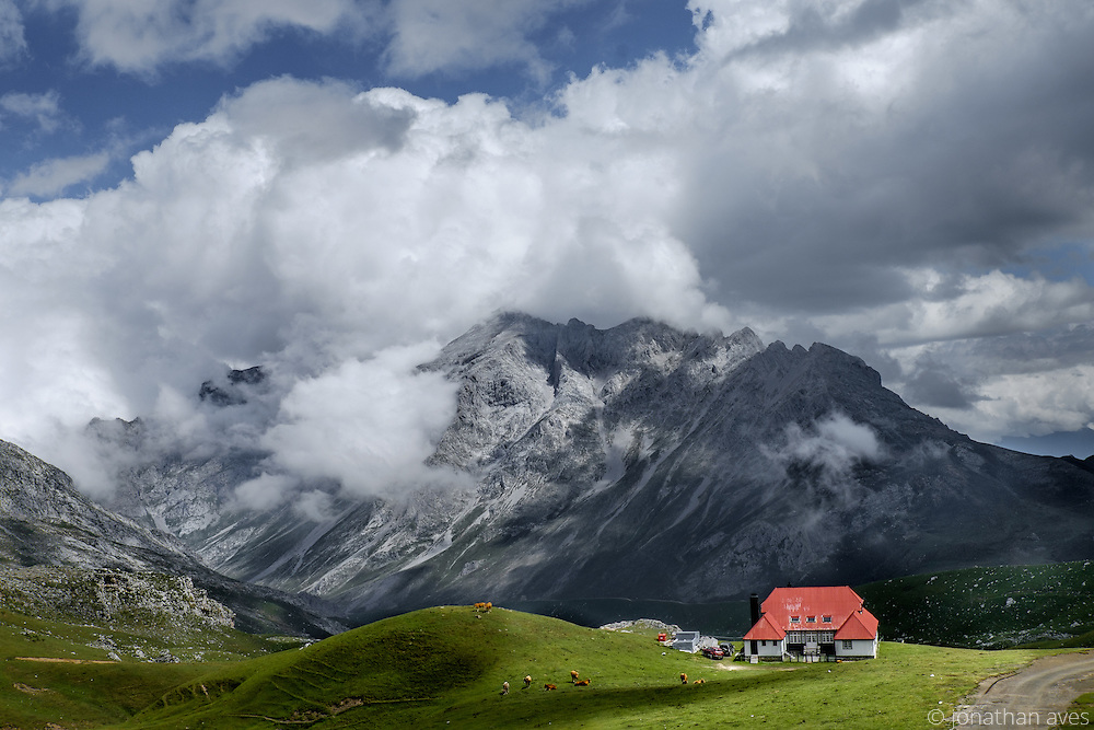 Old Hunting Lodge, Picos de Europa Mountains, Northern Spain
