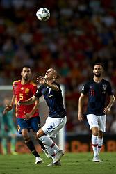 September 11, 2018 - Elche, Spain - Domagoj Vida of Croatia during the UEFA Nations League football match between Spain and Croatia at Martinez Valero Stadium in Elche, Spain on September 11, 2018. (Credit Image: © Jose Breton/NurPhoto/ZUMA Press)