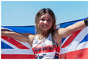 Sky Brown wins Bronze for Team GB in the women's skateboard park final at the Tokyo 2020 Olympic Games.