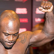 NLD/Almere/20171028 - Weging + staredown Spike presents: WFL - Final 16, Melvin Manhoef