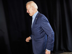 May 1, 2019 - Iowa City, Iowa, U.S - Former Vice President JOE BIDEN walks into his campaign event in Iowa City. Biden is running to be the Democratic nominee for the US Presidency in 2020. He is campaigning in Iowa City and Des Moines today. Iowa traditionally hosts the the first selection event of the presidential election cycle. The Iowa Caucuses will be on Feb. 3, 2020. (Credit Image: © Jack Kurtz/ZUMA Wire)