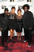 November 2, 2012- New York, NY: (L-R) Recording Artist/Actor Tariq Trotter, Desiree Rogers, CEO, Johnson Publishing Company, Linda Johnson Rice, Chair, Johnson Publishing Company and Recording Artist/Music Journalist Questlove at the Ebony Power 100 Gala Presented by Nationwide held at Jazz at Lincoln Center on November 2, 2012 in New York City. The EBONY Power 100 Gala Presented by Nationwide salutes the country's most influential African Americans.(Terrence Jennings)