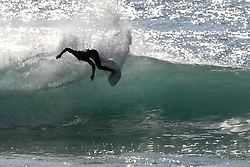 October 20, 2018 - Peniche, Portugal - Julian Wilson of Australia in action during the World Surf League MEO Rip Curl Pro Portugal quarterfinals, the 10th event of the WSL Men's Championship Tour, at the Supertubos beach in Peniche, Portugal, on October 20, 2018. (Credit Image: © Pedro Fiuza/NurPhoto via ZUMA Press)