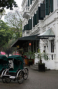 Sofitel in French Quarter of Hanoi, former capital of Indochine (French Indochina).