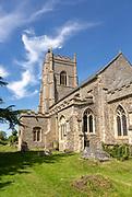 Village parish church of Saint Peter, Monks Eleigh, Suffolk, England, UK