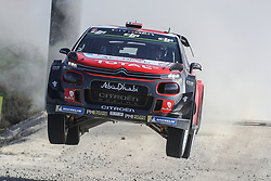 May 19, 2018 - Matosinhos, Matosinhos, Portugal - MADS OSTBERG (NOR) and TORSTEIN ERIKSEN (NOR) in CITROEN C3 WRC of CITROEN TOTAL ABU DHABI WRT in action during the SS10 Vieira do Minho 1 of WRC Vodafone Rally de Portugal 2018, at Matosinhos in Portugal on May 19, 2018. (Credit Image: © Dpi/NurPhoto via ZUMA Press)