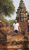 EXCLUSIVE Leonardo .DiCaprio pictured in Thailand
