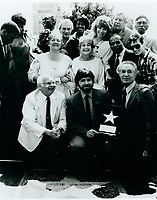 1986 Billie Holliday's posthumous Walk of Fame ceremony
