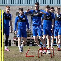 St Johnstone Training 19.03.21
