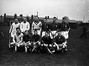 16/01/1960<br /> 01/16/1960<br /> 16 January 1960<br /> Interprovincial Mens Hockey: Munster v Leinster. The Leinster team that played Munster in the Senior Mens Hockey Interprovincial at Londonbridge Road, Dublin.