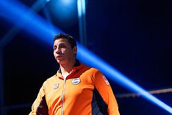 17-11-2019 NED: World Port Boxing Netherlands - Kazakhstan, Rotterdam<br /> 3rd World Port Boxing in Excelsior Stadion Rotterdam / Coach Abdul Fkiri