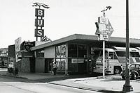 1979 Greyhound Bus Station on Vine St.