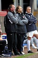 Photo: Dave Linney.<br />Walsall v Bradford City. Coca Cola League 1. 25/03/2006.<br />Walsall's Mgr Kevan Broadhurst(C)