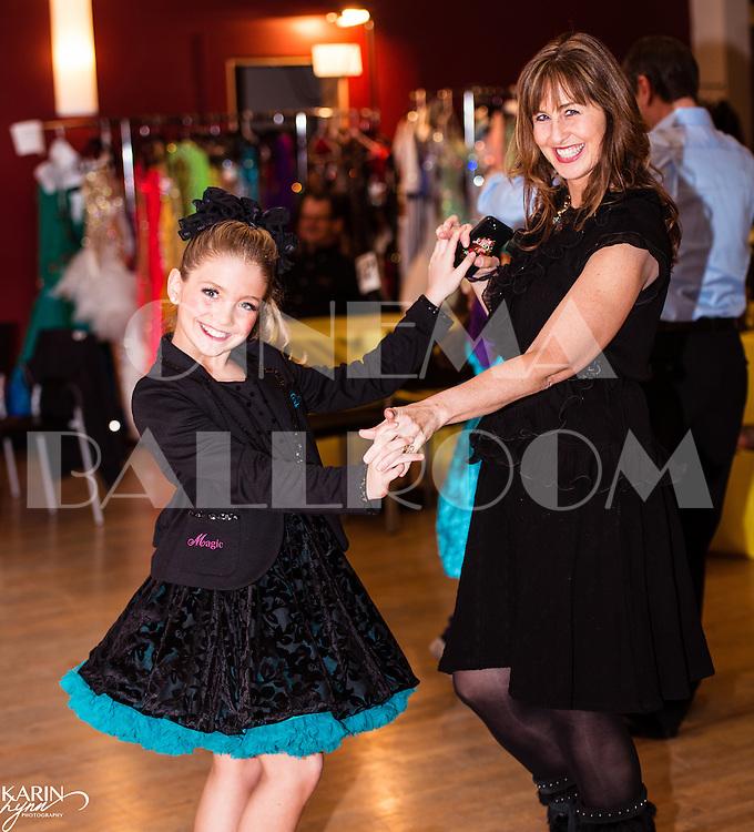 Dinner/Dance Joanie and Dora Dolphin