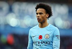 Leroy Sane of Manchester City - Mandatory by-line: Matt McNulty/JMP - 05/11/2017 - FOOTBALL - Etihad Stadium - Manchester, England - Manchester City v Arsenal - Premier League