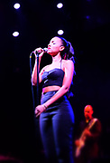 New York, New York- June 10: Recording Artist Alice Smith performs at the BRIC Celebrate Brooklyn Festival with Alice Smith/Bilal/Kris Bowers held at the Prospect Park Bandshell  on June 10, 2017 in Brooklyn, New York City.   (Photo by Terrence Jennings/terrencejennings.com)