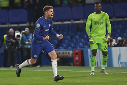 November 5, 2019: AMSTERDAM, NETHERLANDS - OCTOBER 22, 2019: Christian Pulisic (Chelsea FC)  pictured during the 2019/20 UEFA Champions League Group H game between Chelsea FC (England) and AFC Ajax (Netherlands) at Stamford Bridge. (Credit Image: © Federico Guerra Maranesi/ZUMA Wire)