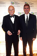l to r: Charles Grodin and Les Lieberman at Children's Cancer & Blood Foundation Breakthrough Ball held at The Plaza Hotel on October 20, 2009..