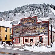 A livery stable, a National Garage, and now the home to the award winning High West Whiskey. Park City, Utah